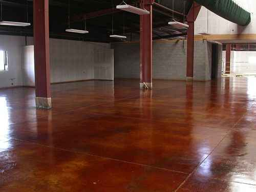 Commercial-Stained Concrete-Kent WA-2
